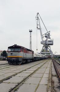 751 084 (92 56 1751 084-5 SK-ZSSKC) at Komarno Docks (Photostop 2) on 27th April 2017 working PTG Railtour (5)