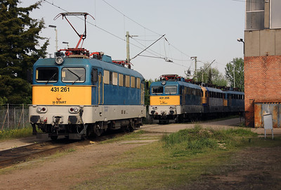 431 261 (91 55 0431 261-1 H-START) at Nyiregyhaza Depot on 1st May 2017 (2)