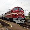 M61 006 (92 55 0618 006-4 H-MNOS) at Komarno (Slovakia) on 27th April 2017 working PTG Railtour (6)