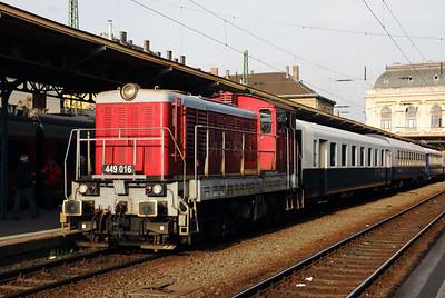 449 016 (98 55 0449 016-2) at Budapest Keleti on 27th April 2017 working PTG Railtour (3)