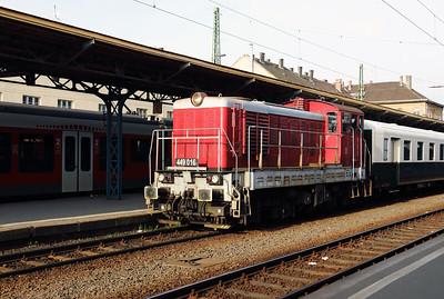 449 016 (98 55 0449 016-2) at Budapest Keleti on 27th April 2017 working PTG Railtour (2)