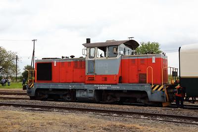 478 304 (98 55 0478 304-6 H-START) at Mezocsat on 29th April 2017 working PTG Railtour (60)