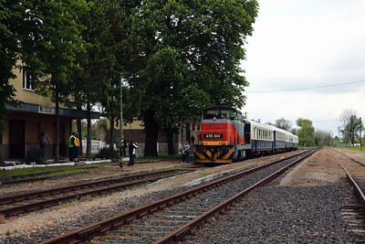478 304 (98 55 0478 304-6 H-START) at Mezocsat on 29th April 2017 working PTG Railtour (22)
