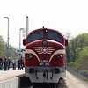 M61 006 (92 55 0618 006-4 H-MNOS) at Piliscsaba on 27th April 2017 working PTG Railtour (5)