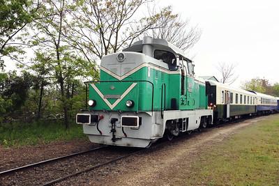 M43 1001 (98 55 0438 001-7 H-MNOS) near Ereco scrap yard on 28th April 2017 working PTG Railtour (10)