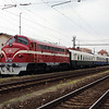 M61 006 (92 55 0618 006-4 H-MNOS) at Komarno (Slovakia) on 27th April 2017 working PTG Railtour (2)