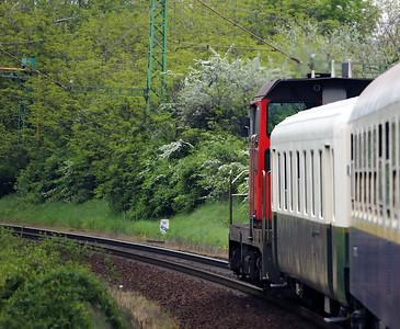 RCA, 409 001 (92 55 0409 001-8 ex OBB 2068 010) near Soroksar on 28th April 2017 working PTG Railtour (2)