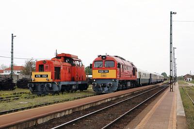 478 032 & 628 191 at Nyirbator on 1st May 2017 working PTG Railtour (14)