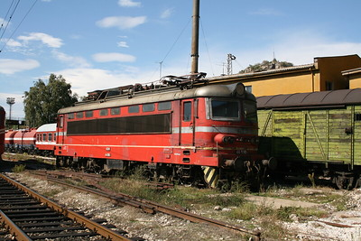 44 130 at Plovdiv Depot on 6th October 2008