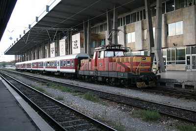 61 002 at Sofia on 6th October 2008