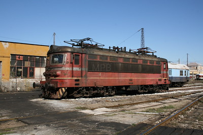 43 506 at Plovdiv Depot on 6th October 2008