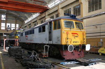 87 007 at Sofia Poduyane Depot 031008