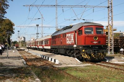07 068 at Asenovgrad on 6th October 2008