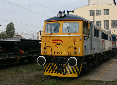 2) 87 008 at Sofia Poduyane Depot on 3rd October 2008