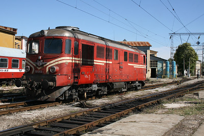 06 066 at Plovdiv Depot on 6th October 2008