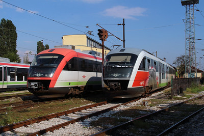 30005 & 10033 at Sofia Depot on 13th September 2014 (1)