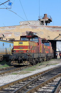 61 012 at Sofia Depot on 13th September 2014 (3)