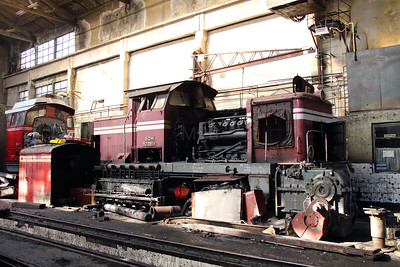 52 051 at Sofia Depot on 13th September 2014 (2)