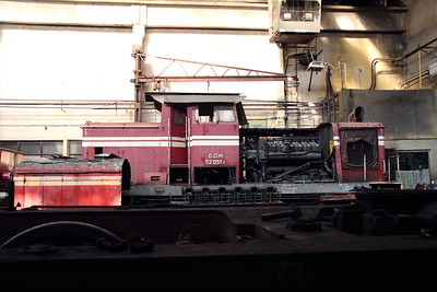 52 051 at Sofia Depot on 13th September 2014
