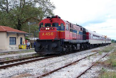 A456 at Rodopoli on 17th September 2014 working railtour (2)