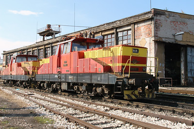 61 020 at Sofia Depot on 13th September 2014 (3)