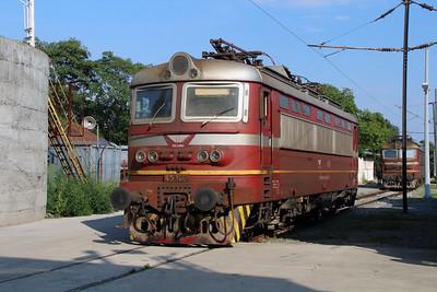 45 166 (91 52 00 45 166-3 BG-BDZTP) at Sofia Depot on 13th September 2014