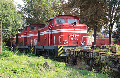 52 202 at Sofia Depot on 13th September 2014 (1)