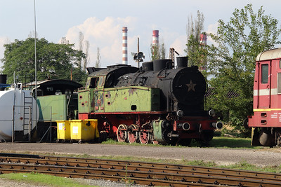 steam, 48 04 at Sofia Depot on 13th September 2014