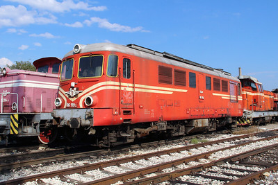 06 119 at Sofia Depot on 13th September 2014 (2)
