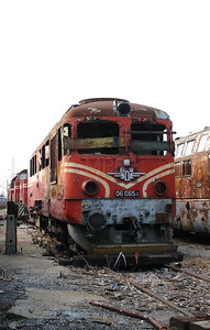 06 065 at Sofia Depot on 13th September 2014