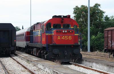 A456 at Komotini on 17th September 2014 working railtour  (4)