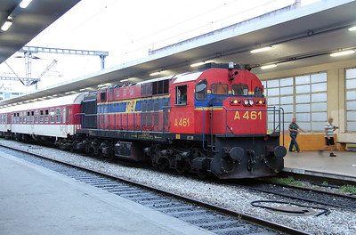 A461 at Thessaloniki on 18th September 2014 working Railtour (1)