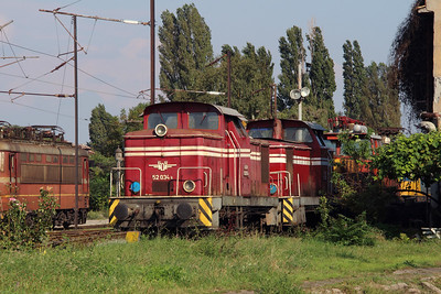 52 034 at Sofia Depot on 13th September 2014