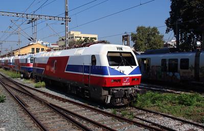 120 028 at Thessaloniki Depot on 19th September 2014 (1)