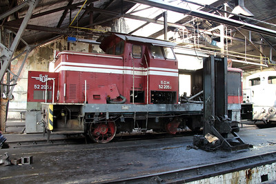52 205 at Sofia Depot on 13th September 2014 (3)