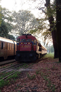 A461 at Edessa on 18th September 2014 working Railtour (13)