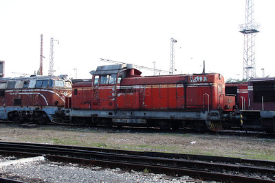 55 029 at Sofia Depot on 13th September 2014