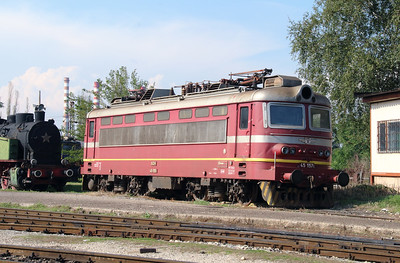 45 157 at Sofia Depot on 13th September 2014