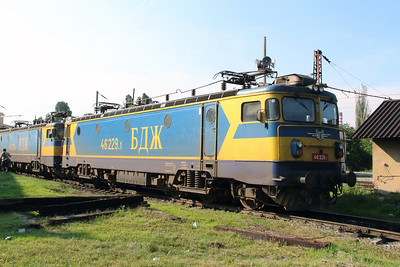 46 229 at Sofia Depot on 13th September 2014