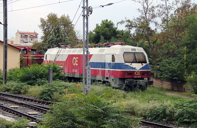120 005 at Thessaloniki Depot on 18th September 2014 (2)