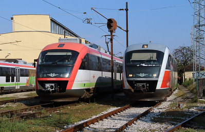 30005 & 10033 at Sofia Depot on 13th September 2014 (2)