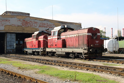 55 013 (98 52 00 55 013-7 BG-BDZTP) at Sofia Depot on 13th September 2014 (2)