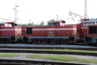 52 066 at Sofia Depot on 13th September 2014
