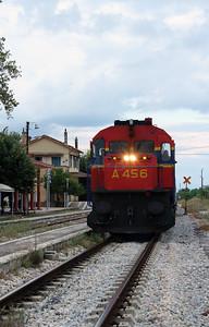 A456 at Rodopoli on 17th September 2014 working railtour (7)