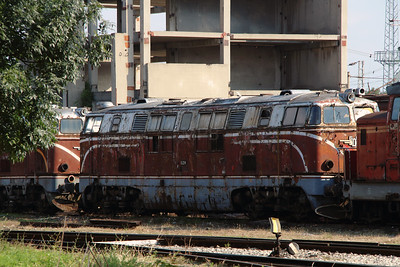 04 012 at Sofia Depot on 13th September 2014 (1)