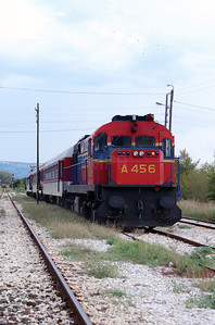 A456 at Strimon on 17th September 2014 working railtour