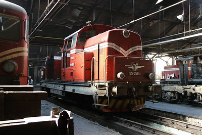 55 056 at Sofia Depot on 13th September 2014 (2)