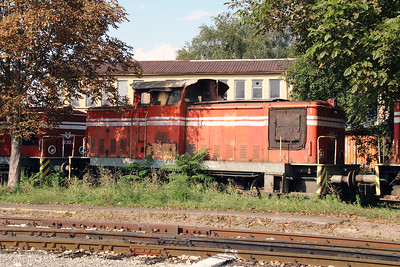 52 048 at Sofia Depot on 13th September 2014