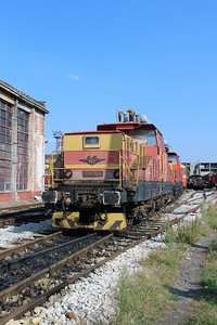 61 018 at Sofia Depot on 13th September 2014