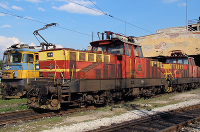 61 012 at Sofia Depot on 13th September 2014 (2)